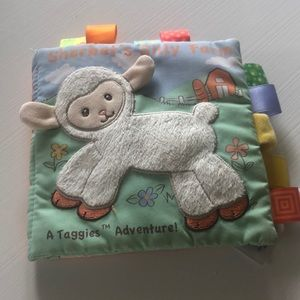 Taggies soft crinkle book